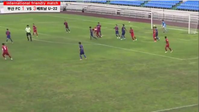 Diễn biến chi tiết U22 Việt Nam 6-1 Busan FC: Đoàn quân áo đỏ toàn thắng trên đất Hàn Quốc - Ảnh 2.