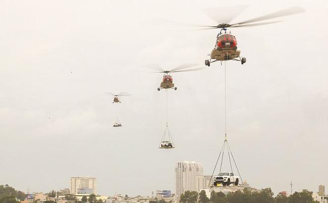 """Việt Nam điều động trực thăng Mi-172 thực hiện """"Nhiệm vụ đặc biệt"""""""