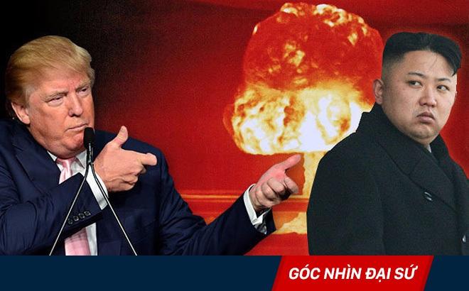 Rùm beng về quân sự, ông Trump đang lộ sự bế tắc về Triều Tiên?