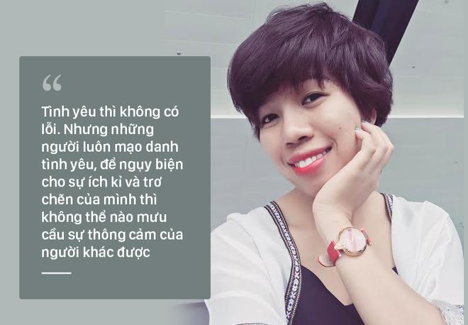'Thưa chị Trà Ngọc Hằng, chấp nhận làm người thứ 3 thì không đủ tư cách cầu xin ai thông cảm' 1