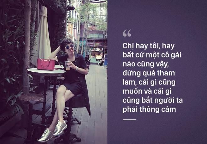 'Thưa chị Trà Ngọc Hằng, chấp nhận làm người thứ 3 thì không đủ tư cách cầu xin ai thông cảm' 2
