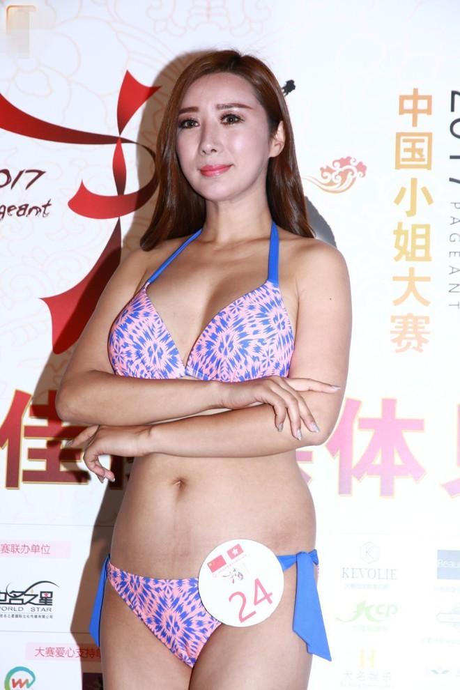 Nhan sắc thảm họa của các thí sinh lọt chung kết Hoa hậu Trung Quốc - Ảnh 2.