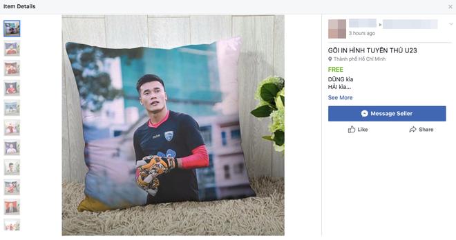 Chiếc áo đôi của Tiến Dũng và Đức Chinh được bán ồ ạt trên mạng, sản phẩm ăn theo U23 VN cũng bắt đầu đắt hàng - Ảnh 6.