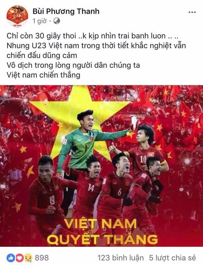 Mỹ Tâm đánh tiếng tới các cầu thủ U23 Việt Nam: Thèm ăn rau muống xào nhớ cho chị biết! - Ảnh 9.