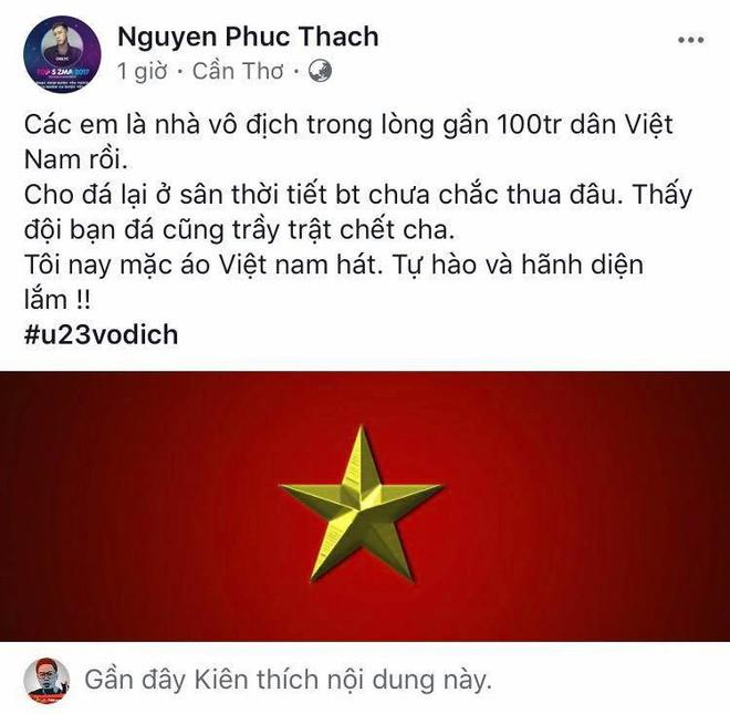 Mỹ Tâm đánh tiếng tới các cầu thủ U23 Việt Nam: Thèm ăn rau muống xào nhớ cho chị biết! - Ảnh 7.