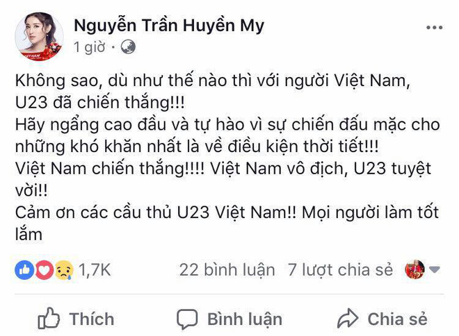 Mỹ Tâm đánh tiếng tới các cầu thủ U23 Việt Nam: Thèm ăn rau muống xào nhớ cho chị biết! - Ảnh 5.