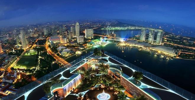 Top 10 nhà hàng trên tầng thượng có tầm nhìn đẹp nhất thế giới - Ảnh 1.