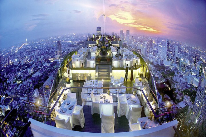 Top 10 nhà hàng trên tầng thượng có tầm nhìn đẹp nhất thế giới - Ảnh 2.