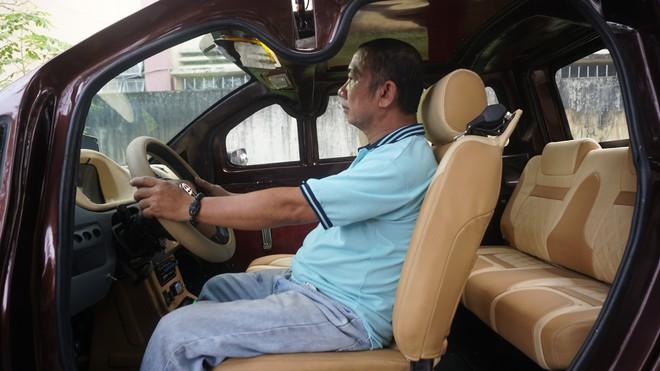 Cận cảnh ô tô điện made in Việt Nam của người đàn ông học đến lớp 9 - Ảnh 1.