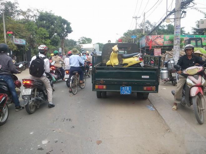 Cô gái ở Sài Gòn bị xe ben tông ngã rồi cán qua đầu tử vong thương tâm - Ảnh 2.