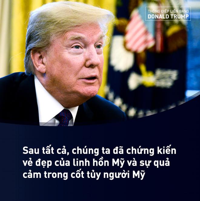 Thông điệp Liên bang của ông Trump: Đây chính là thời điểm Mỹ mới - Ảnh 3.