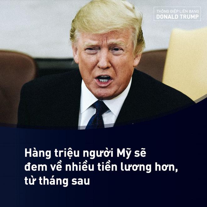 Thông điệp Liên bang của ông Trump: Đây chính là thời điểm Mỹ mới - Ảnh 6.