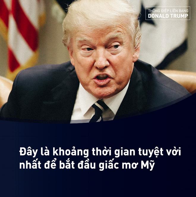 Thông điệp Liên bang của ông Trump: Đây chính là thời điểm Mỹ mới - Ảnh 7.