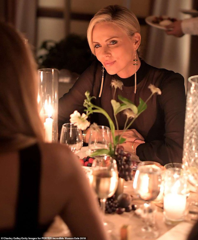 Đêm tiệc trở thành đấu trường nhan sắc: Miranda Kerr, Amber Heard đến Charlize Theron đều đẹp hết phần người khác - Ảnh 8.