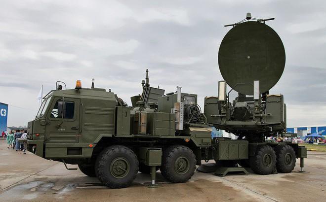 Hệ thống tác chiến điện tử Krasukha-2 của Nga được cho là đã triển khai tới Syria. Ảnh: IB Times