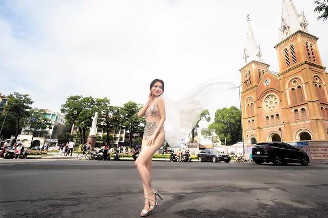 Ảnh cưới sexy giữa phố của Sĩ Thanh bị ném đá là thiếu tôn trọng bản thân - Ảnh 4.