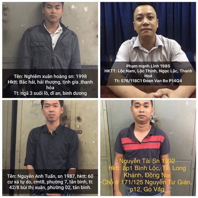 Nhóm giang hồ buôn ma tuý bắt cóc doanh nhân ở Sài Gòn đòi 1,3 tỷ tiền chuộc  - Ảnh 1.