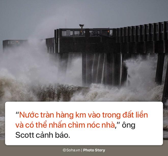 Sức mạnh kinh hoàng của bão Michael và những cảnh không tưởng tượng nổi trên đất liền Mỹ - Ảnh 6.