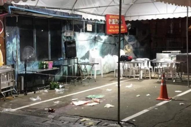 Nhóm thiếu niên cãi vã, xả súng trên đường phố Bangkok khiến du khách thiệt mạng - Ảnh 1.
