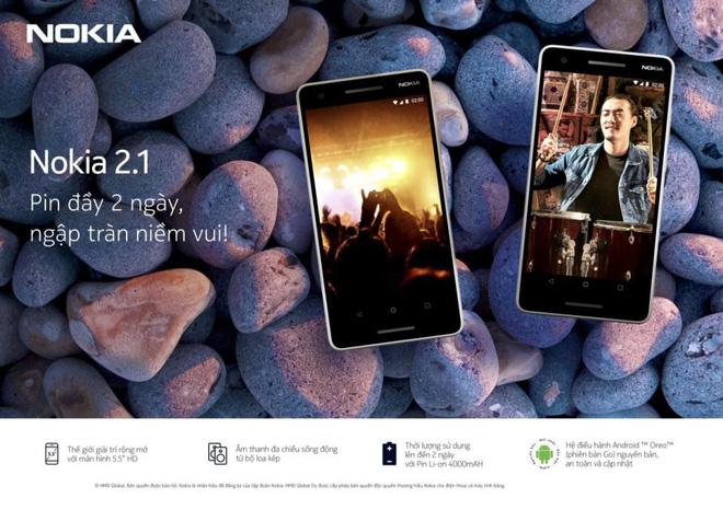 Không còn lo lắng về độ giải trí của điện thoại giá rẻ khi đã có Nokia 2.1! - Ảnh 4.