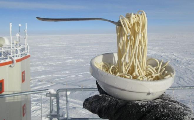 Nhiệm vụ bất khả thi: Nấu ăn ở Nam Cực trong cái lạnh đến -70 độ C