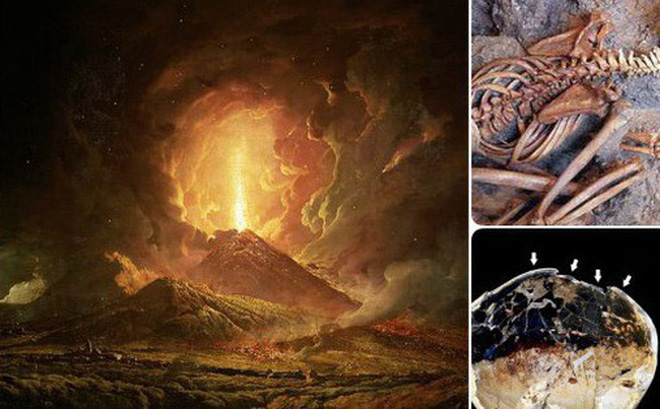 Nghiên cứu hé lộ tình tiết kinh dị tại thảm họa núi lửa kinh hoàng nhất lịch sử: Pompeii