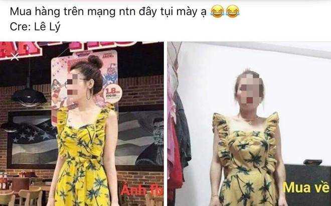 Lên mạng than vãn mua hàng online khác xa hình mẫu, cô gái không được thông cảm mà còn bị phản bác vì một chi tiết