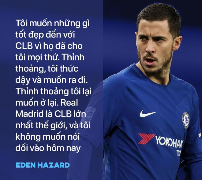 Giữ Hazard thế nào trước lời mời gọi của Real Madrid bây giờ, hả Chelsea? - Ảnh 1.