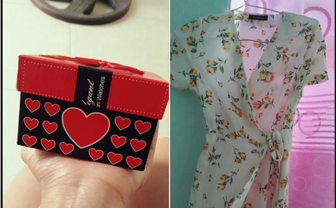 Vợ trẻ hào hứng khoe chồng tặng quà đắt tiền, nhưng chị em lại chỉ chú ý tới chiếc váy hoa mỏng tang