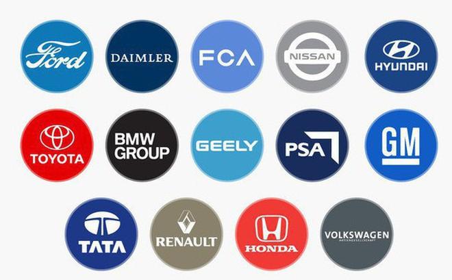 Có hàng trăm thương hiệu xe hơi khác nhau nhưng chúng chỉ thuộc về 14 nhà sản xuất, chi phối toàn bộ ngành ô tô thế giới