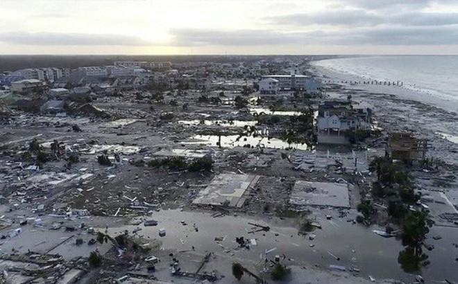 Ảnh, video: Siêu bão Michael tàn phá bờ nam nước Mỹ