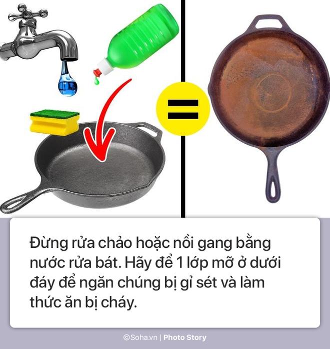 [Photo Story] - 7 lưu ý giúp đồ dùng nhà bếp của bạn vừa đẹp vừa bền, dùng cả chục năm chẳng cần thay mới - Ảnh 5.