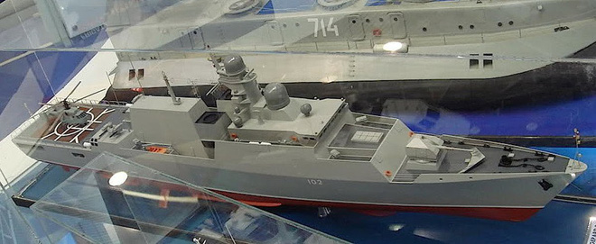 Cặp tàu hộ vệ tên lửa Gepard thứ 3 của VN sẽ có hỏa lực vượt trội: Xứng tầm soái hạm? - Ảnh 1.