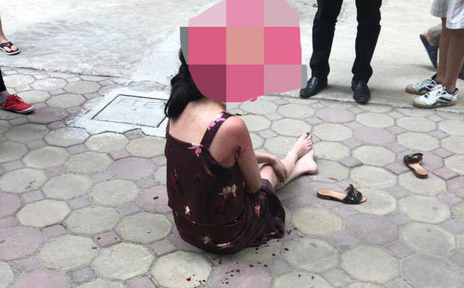 Bất ngờ về danh tính đối tượng nổ súng làm người phụ nữ bị thương ở sân chung cư 1