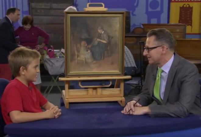 Mua bức tranh chỉ 2 USD, vài tháng sau cậu bé nhận được một bất ngờ nằm ngoài tưởng tượng - Ảnh 2.