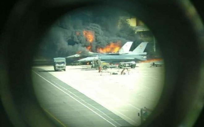 """Lộ nguyên nhân bất ngờ khiến 2 F-16 Bỉ nổ tung: """"Quân ta bắn quân mình"""" ngay trên mặt đất"""