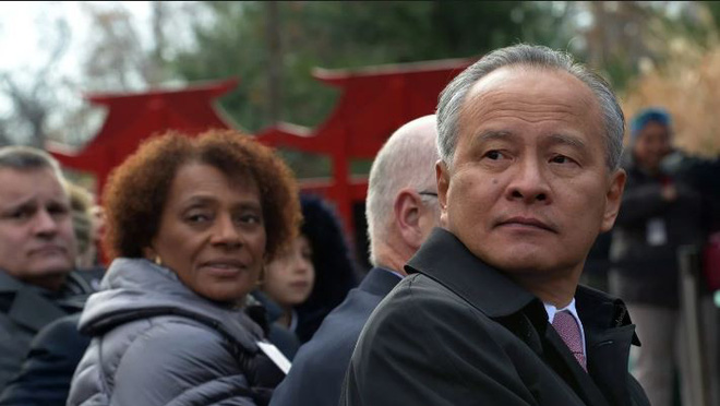 Sách gối đầu giường của diều hâu Nhà Trắng: Đại sứ Trung Quốc tại Mỹ khuyên đừng đọc - Ảnh 1.