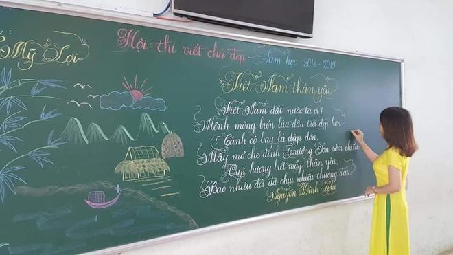 Khi giáo viên tiểu học đi thi viết chữ đẹp: Không máy in hay font chữ xịn sò nào có thể sánh ngang với bàn tay cô giáo! - Ảnh 13.