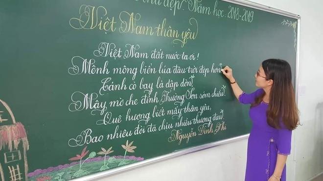 Khi giáo viên tiểu học đi thi viết chữ đẹp: Không máy in hay font chữ xịn sò nào có thể sánh ngang với bàn tay cô giáo! - Ảnh 16.