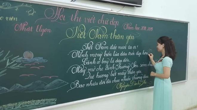 Khi giáo viên tiểu học đi thi viết chữ đẹp: Không máy in hay font chữ xịn sò nào có thể sánh ngang với bàn tay cô giáo! - Ảnh 6.