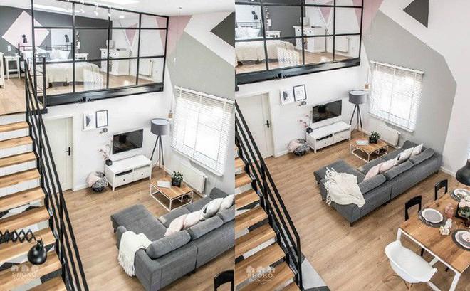 Chỉ vỏn vẹn 30m², căn hộ có gác lửng siêu yêu này sẽ khiến bạn trầm trồ không ngớt