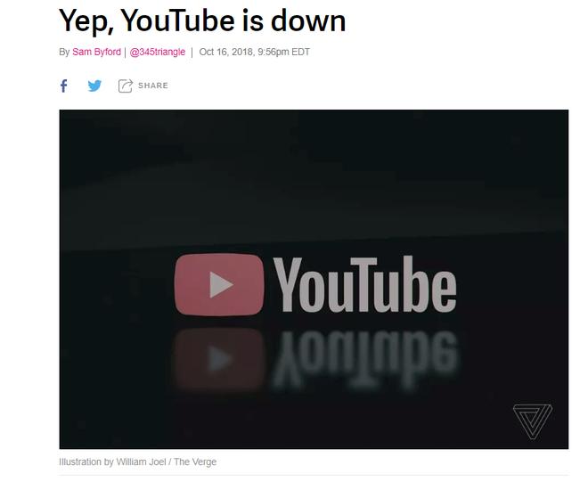NÓNG: Youtube bị sập trên toàn cầu, đội ngũ Youtube nói gì? - Ảnh 3.