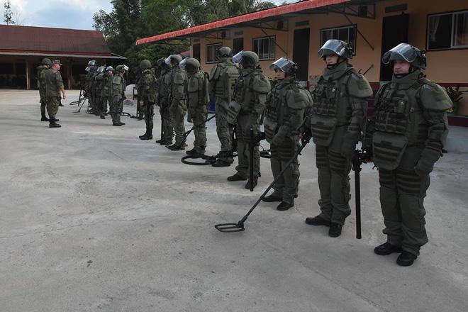 Trang bị hiện đại của lính công binh Nga đang hoạt động tại Lào - Ảnh 12.