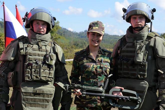 Trang bị hiện đại của lính công binh Nga đang hoạt động tại Lào - Ảnh 7.