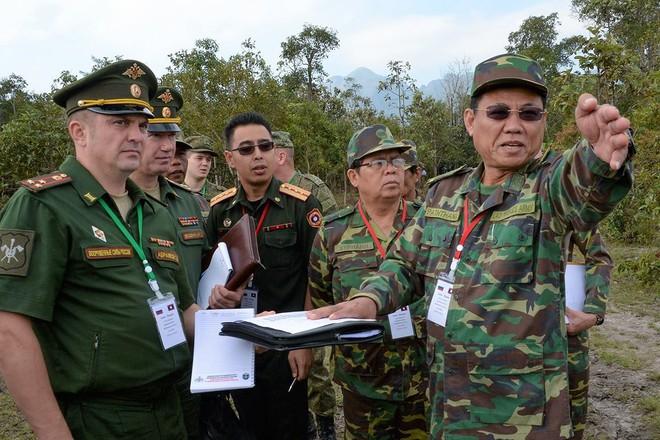 Trang bị hiện đại của lính công binh Nga đang hoạt động tại Lào - Ảnh 3.