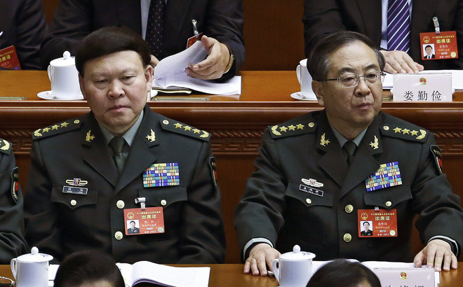 Vướng đại án tham nhũng, cựu tướng lĩnh quân đội TQ bị khai trừ đảng, tước quân tịch 1