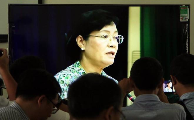 Bà Nguyễn Thị Quyết Tâm: