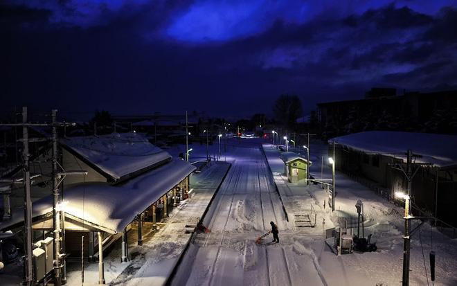 Tadami Line: Chuyến tàu hỏa nhỏ xinh nhất Nhật Bản, đi qua 4 mùa là 4 khung trời khác nhau - Ảnh 22.