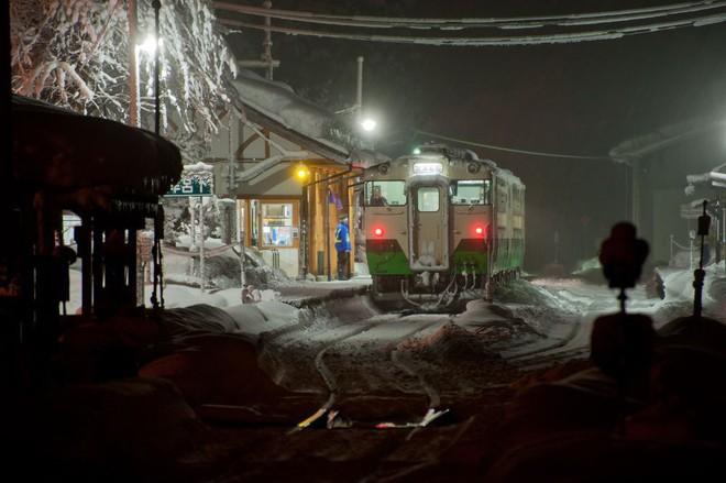 Tadami Line: Chuyến tàu hỏa nhỏ xinh nhất Nhật Bản, đi qua 4 mùa là 4 khung trời khác nhau - Ảnh 24.