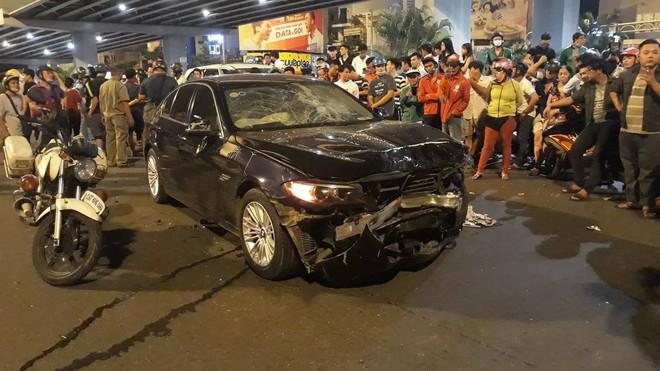 Tông hàng loạt xe máy khiến nhiều người thương vong, nữ tài xế BMW nói mọi chuyện cứ để em lo - Ảnh 2.